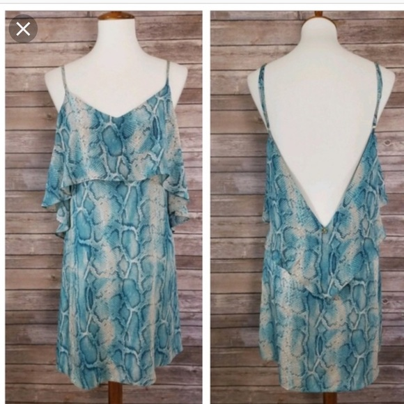 43443ddc8fa71 Vix Dresses | 100 Silk Beach Dress | Poshmark
